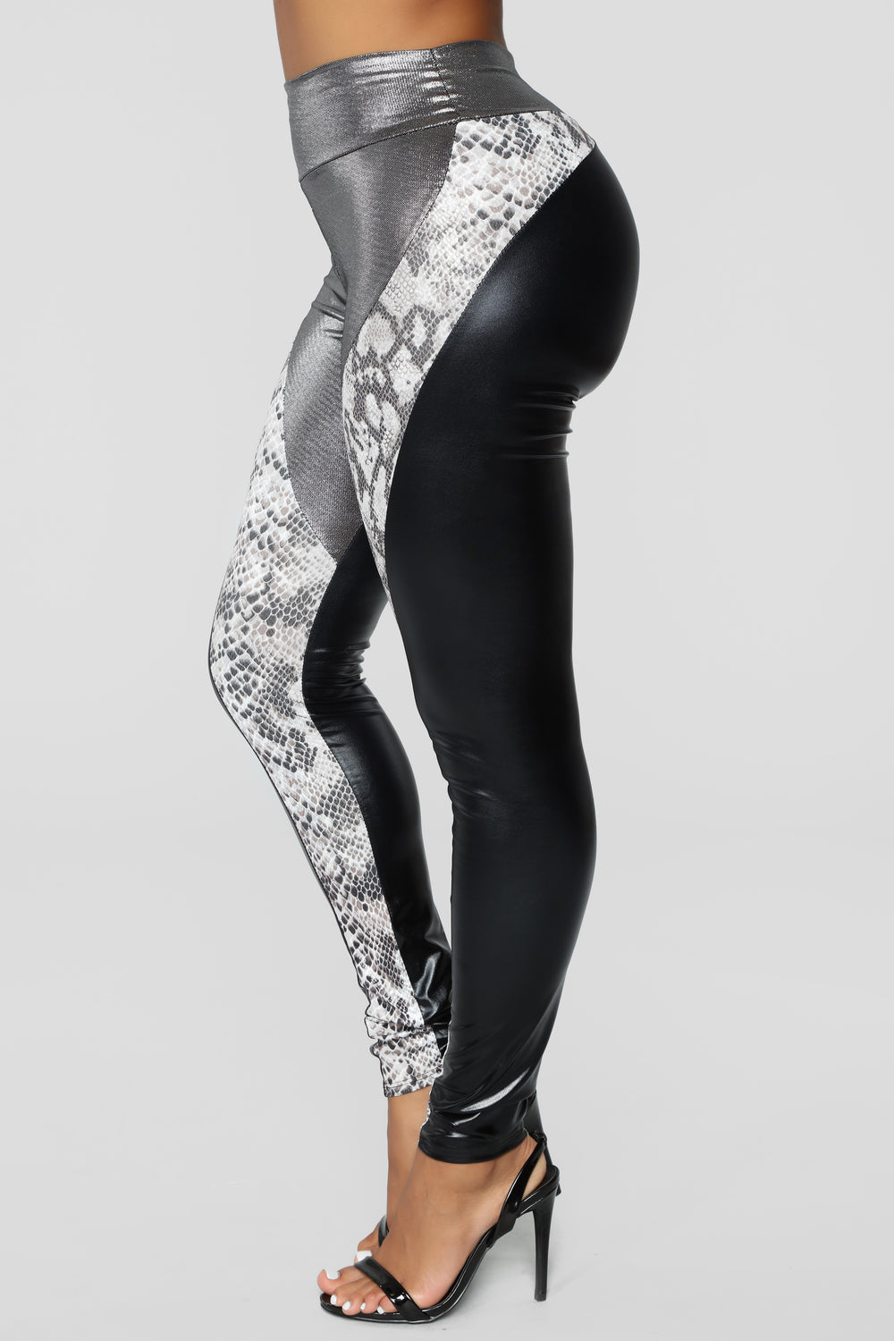 Can't Go Without It Leggings - Snake Multi
