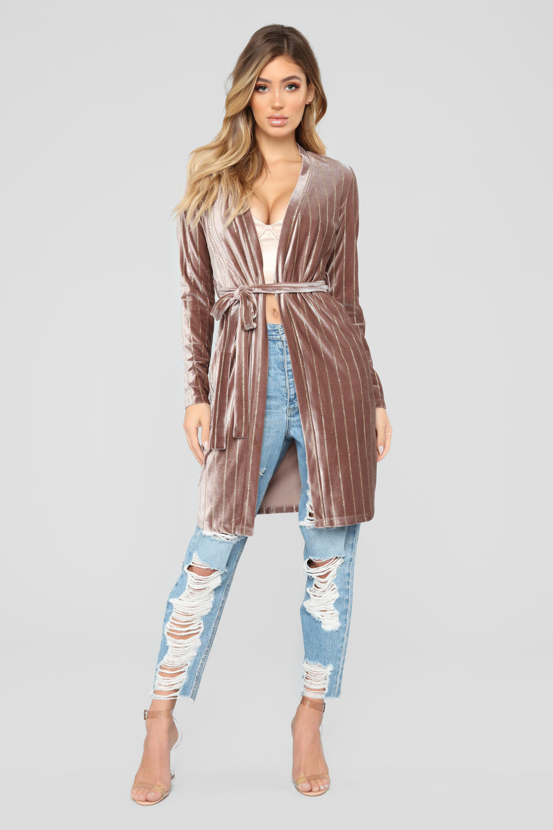 Strut My Stuff Duster - Mauve