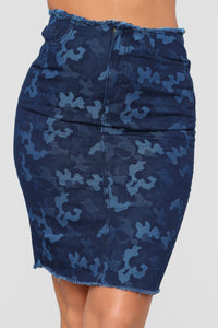 Cadet Lauren Skirt - Blue
