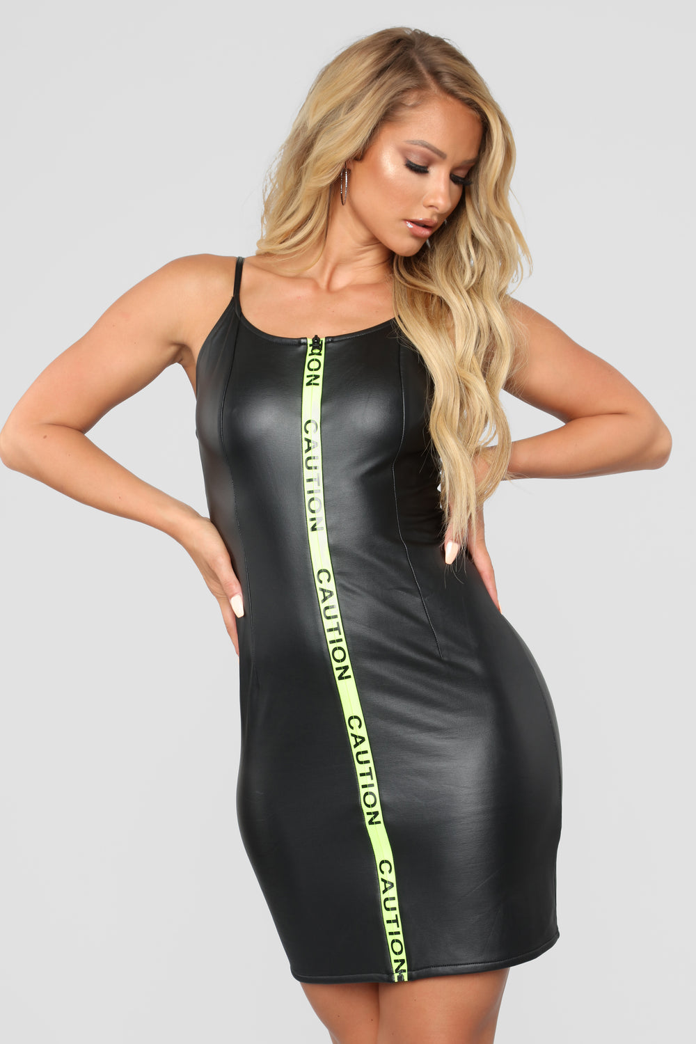 Handle With Care Mini Dress - Black