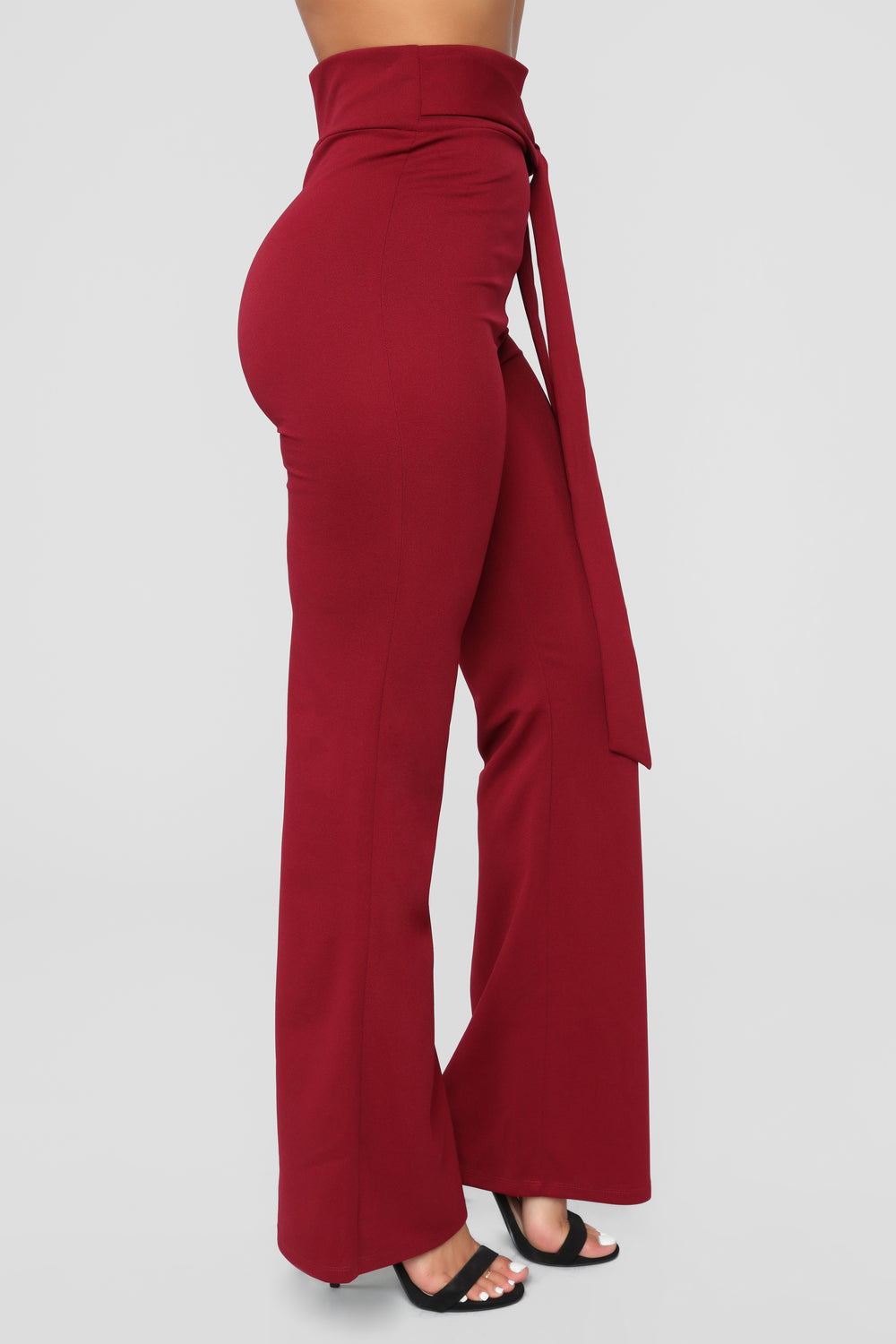 Meltin' Hearts Pants - Burgundy
