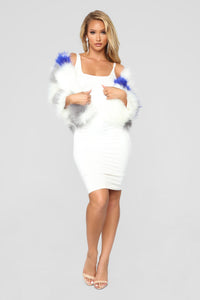 Fur Tonight Jacket - White/combo