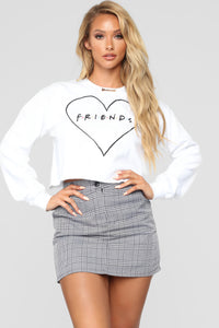 Friends Sweatshirt - White