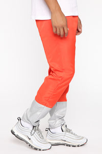 Escape From Alcatraz Joggers - Orange/Combo Angle 3