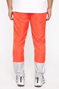 Escape From Alcatraz Joggers - Orange/Combo Angle 5