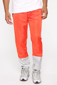 Escape From Alcatraz Joggers - Orange/Combo Angle 1