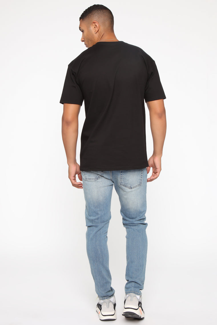 Surf's Up Short Sleeve Tee - Black/combo