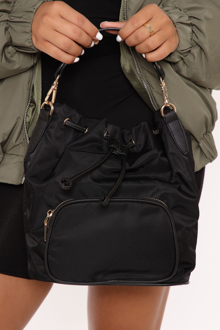Places To Go Mini Backpack - Black
