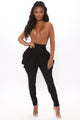 Fly Away Super Slouchy Pant - Black