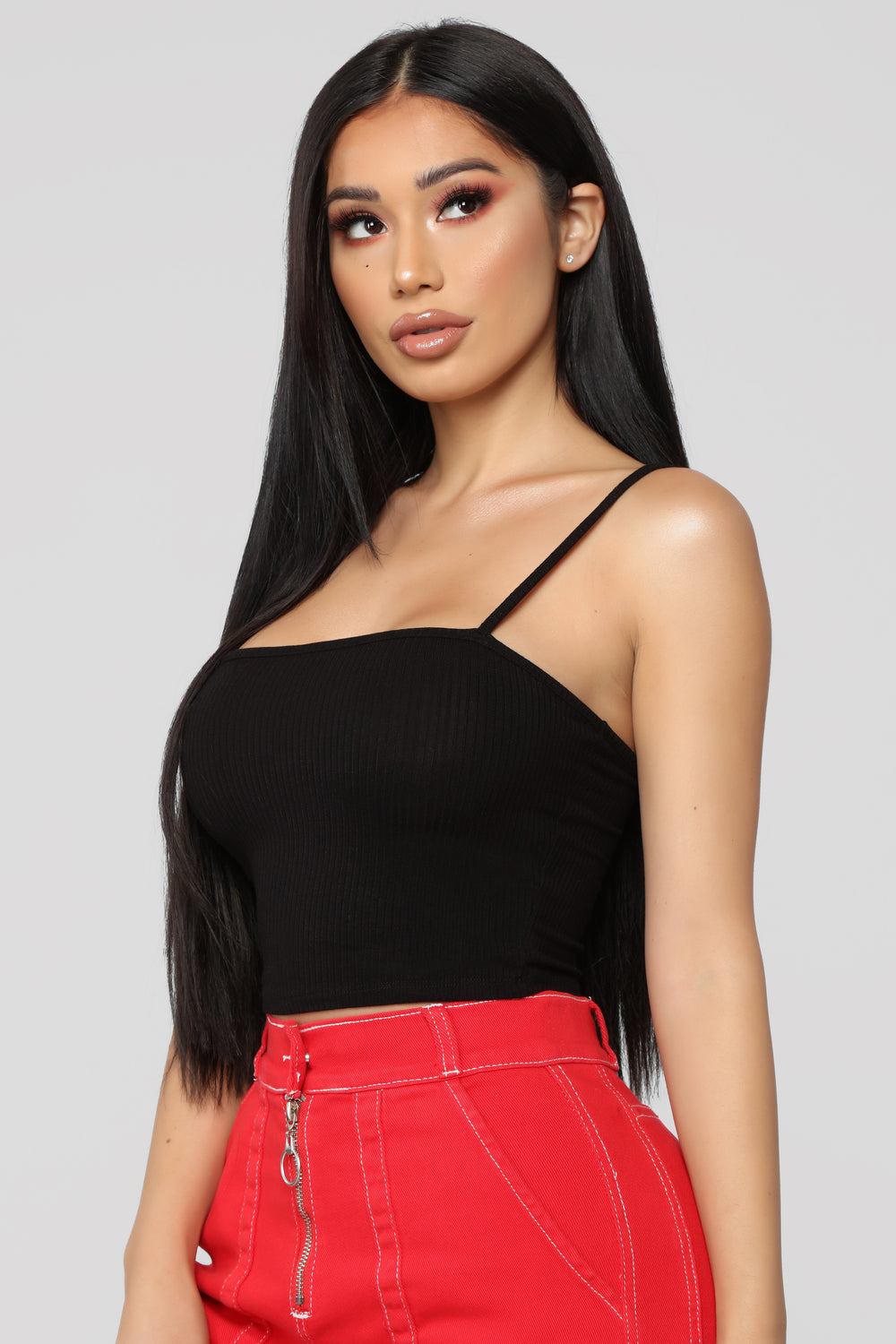 Back To Square One Top - Black