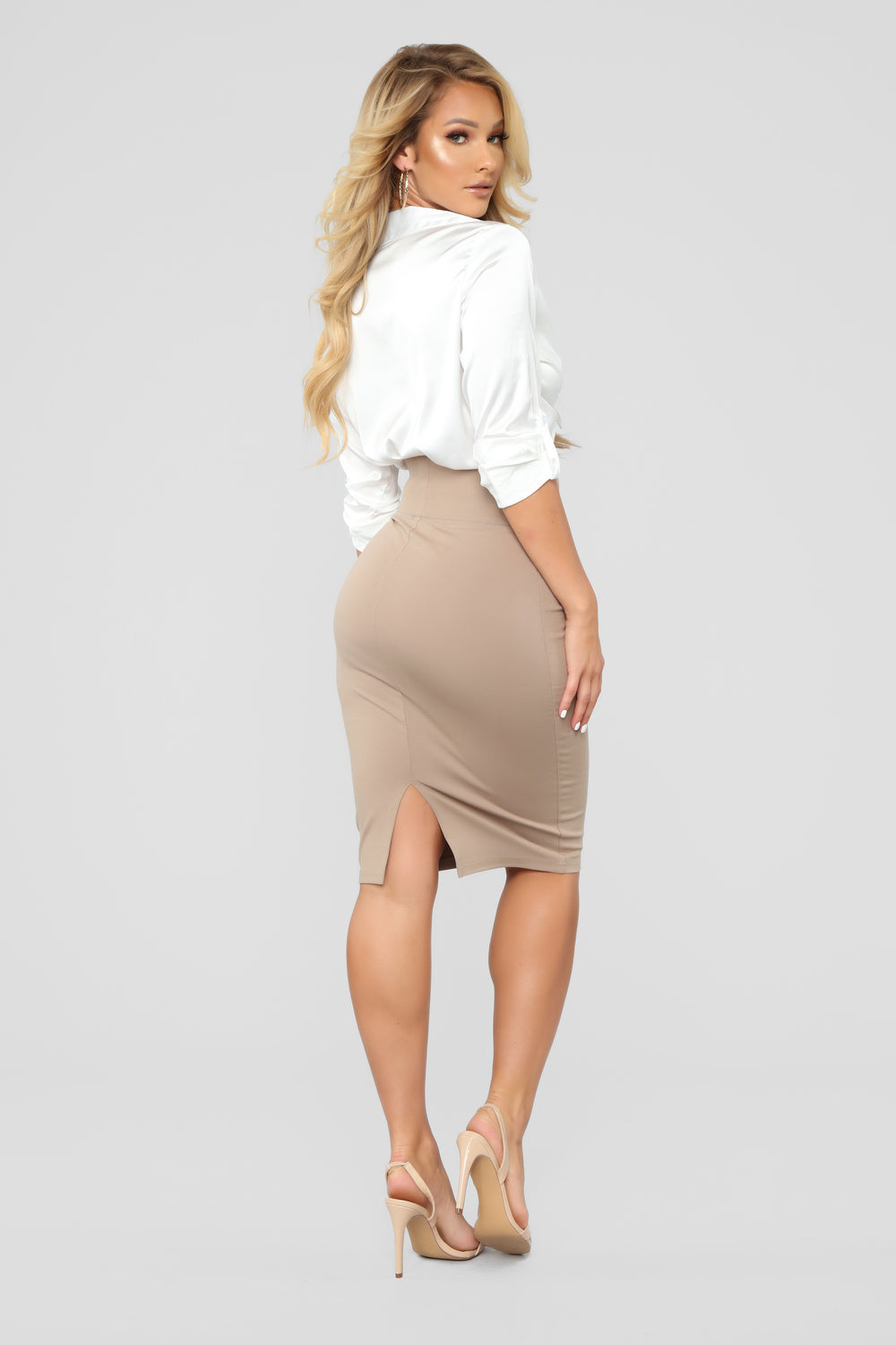 My Go To Mini Skirt - Mocha
