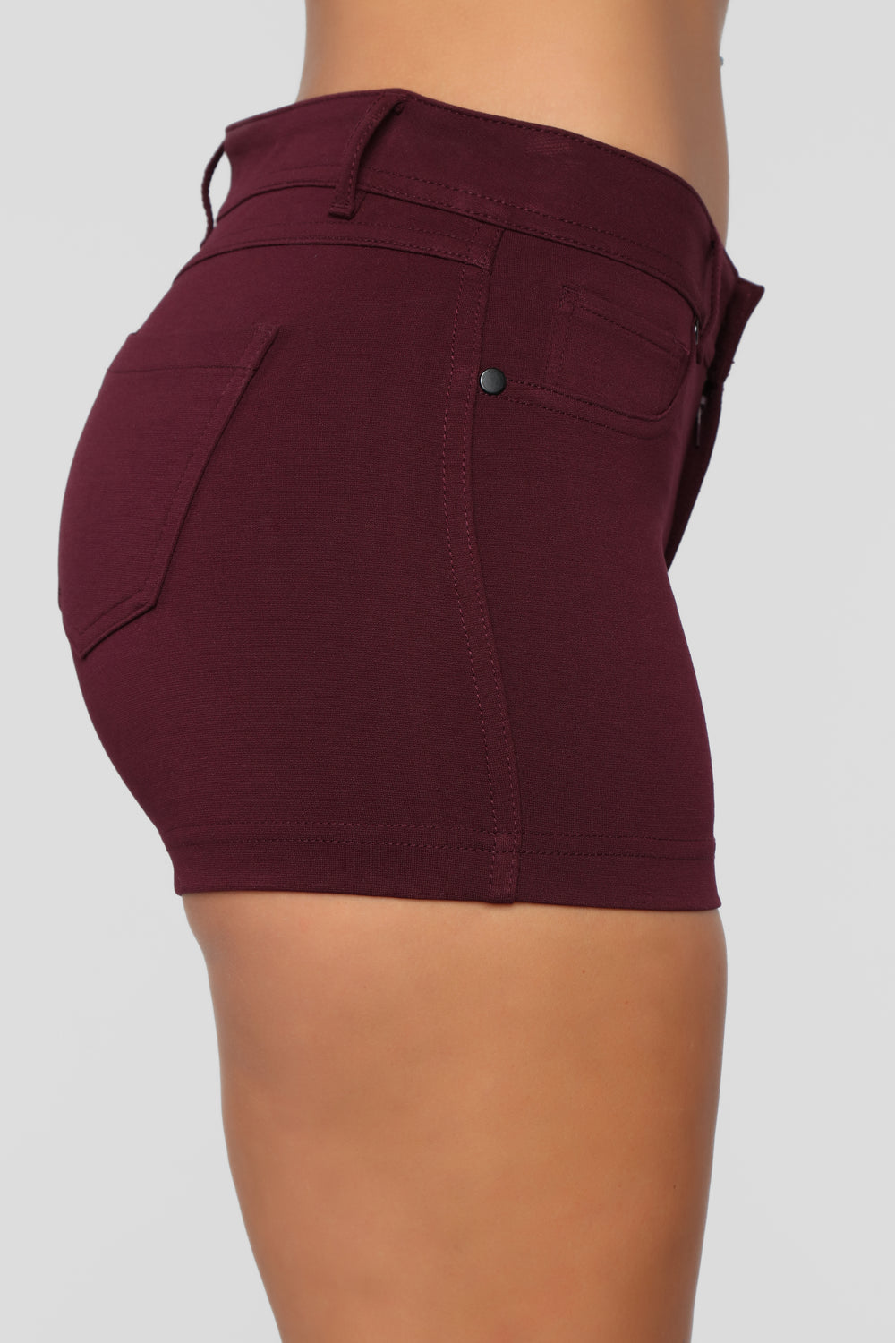 Riley Shorts - Plum