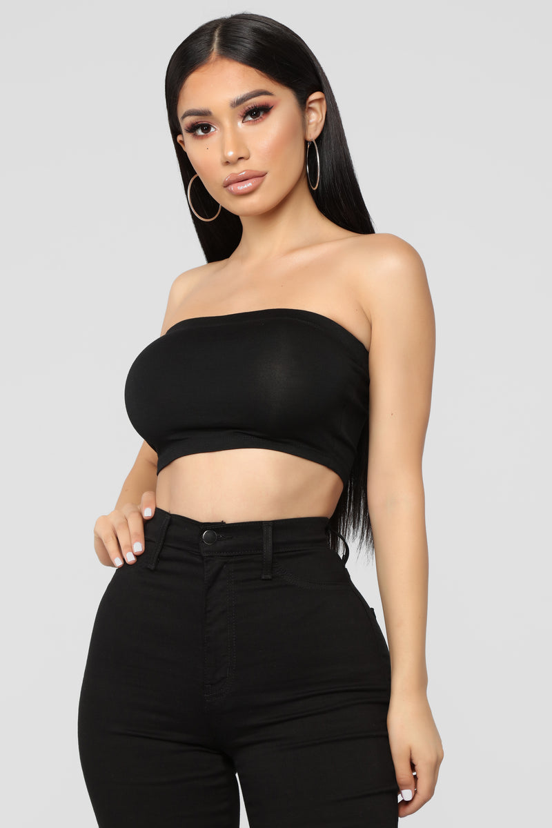 Come Get It Bae Top - Black