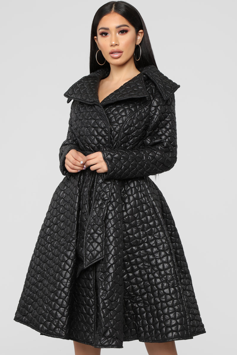 End Game Coat - Black