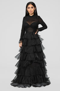 Ace Of Spades Dress - Black