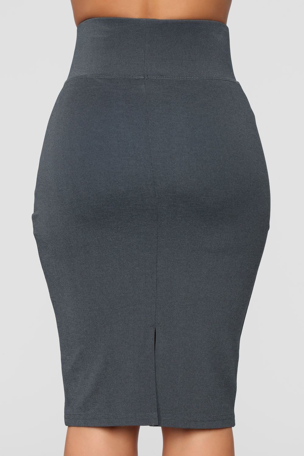 My Go To Midi Skirt - Charcoal