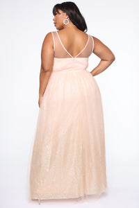 All That Glitters Gown - Blush