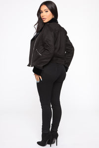 Ready To Go Moto Jacket - Black