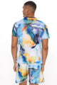 Claude Short Sleeve Tee - Multi Color
