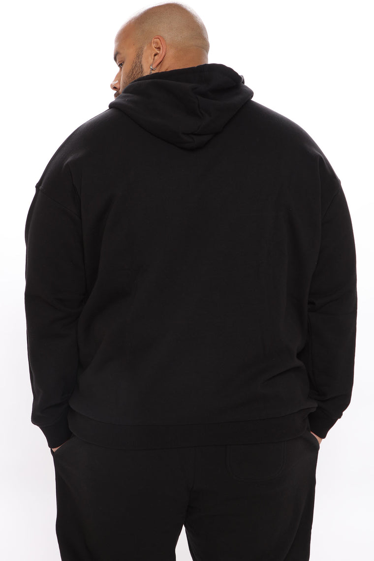 Finger In The Sky Hoodie - Black/White
