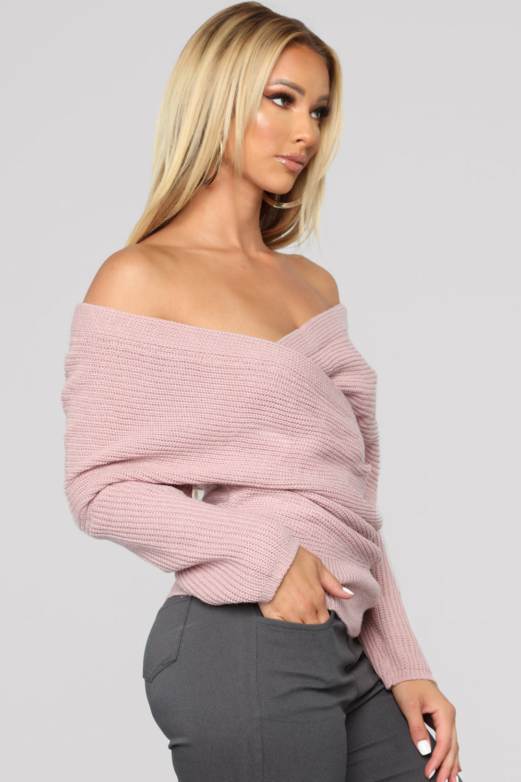 Nice And Cozy Sweater - Mauve