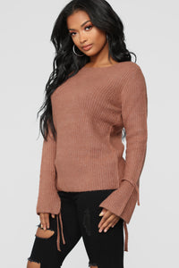 Embraced Sweater - Mauve
