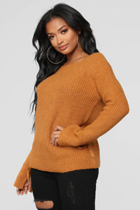 Embraced Sweater - Mustard