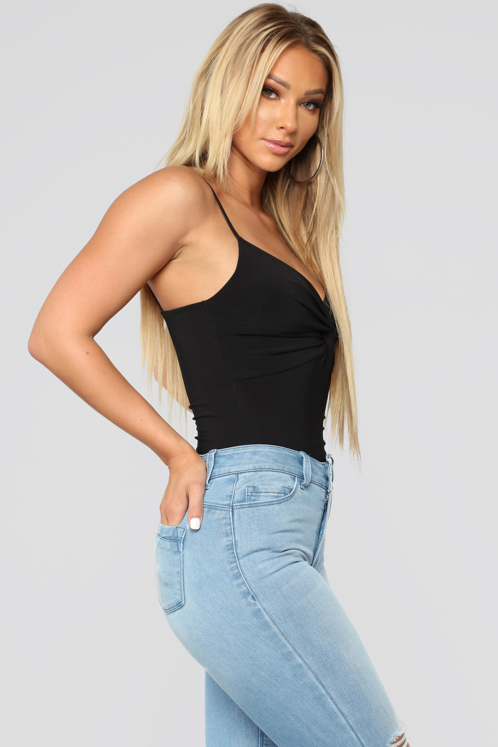 Knot Going To Happen Bodysuit - Black