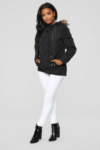 Keep Me Hot Jacket - Black