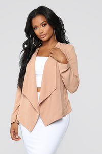 Good To Know Blazer - Taupe