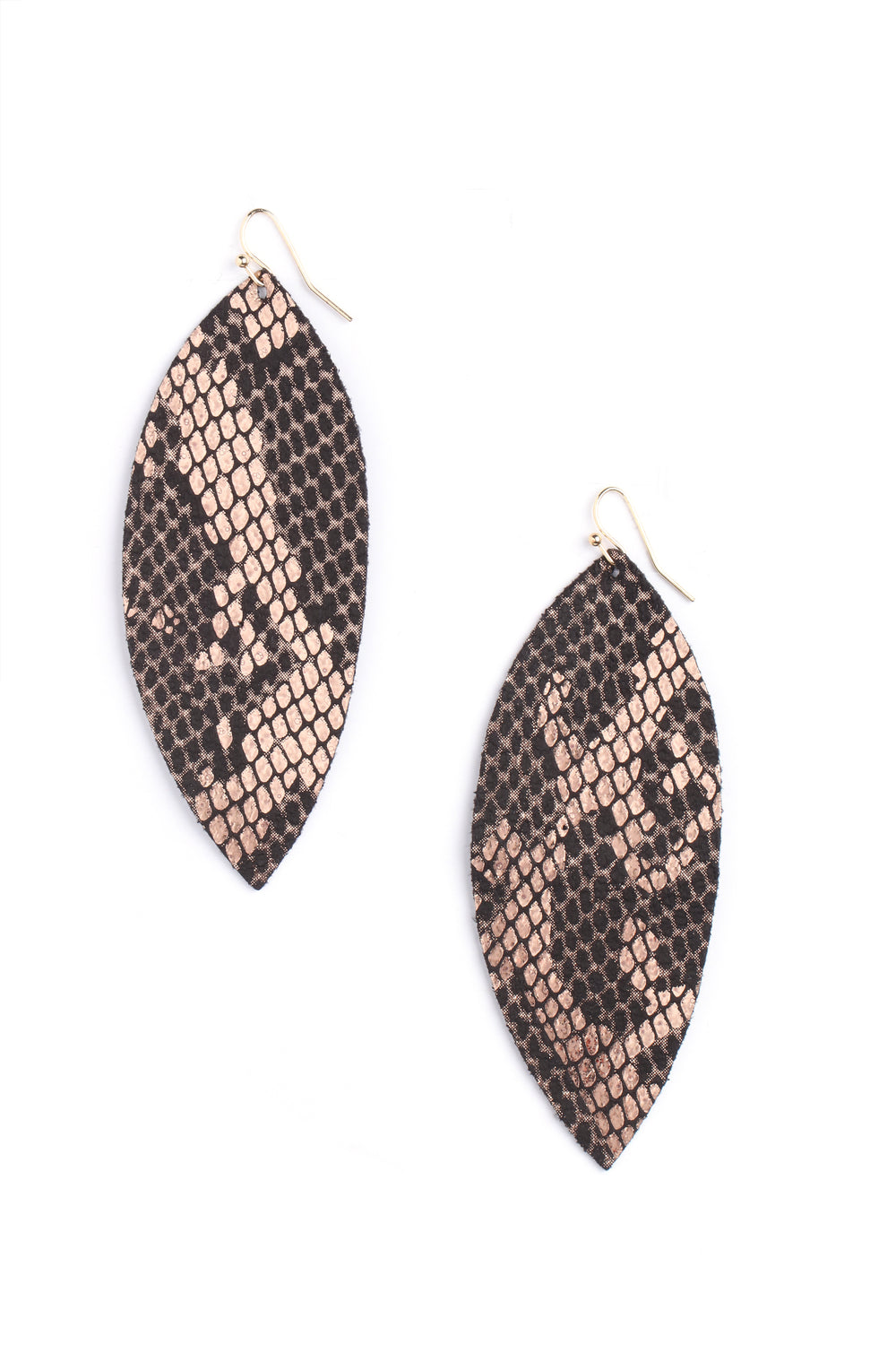 Slither Your Way Earrings - Snake