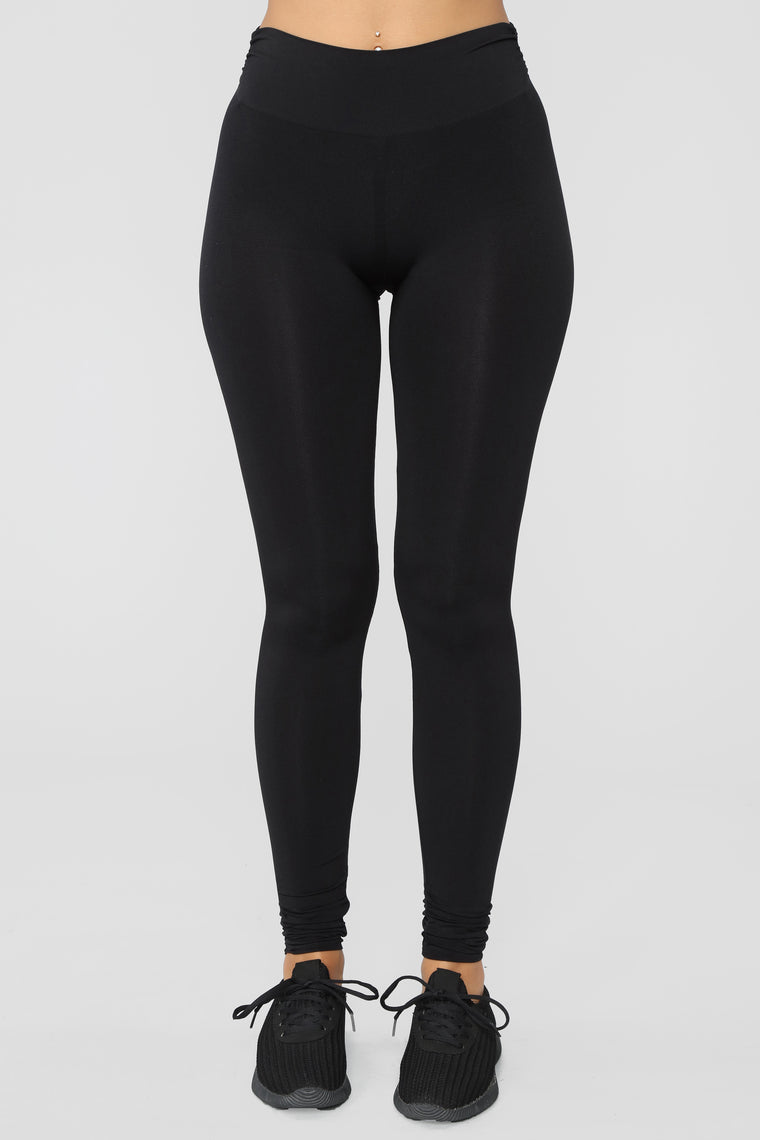 Alaina Performance Leggings - Black