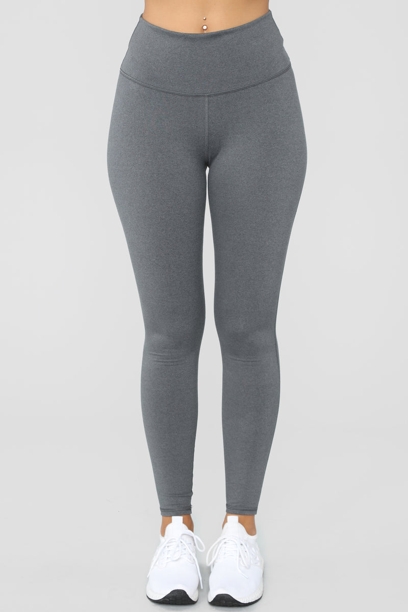 Emery Performance Leggings - Grey