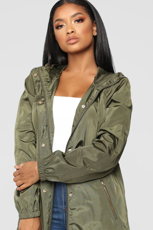 One Way Out Jacket - Olive