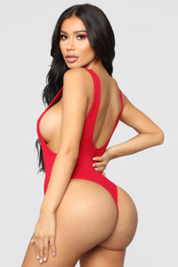 Adore You Bodysuit - Red