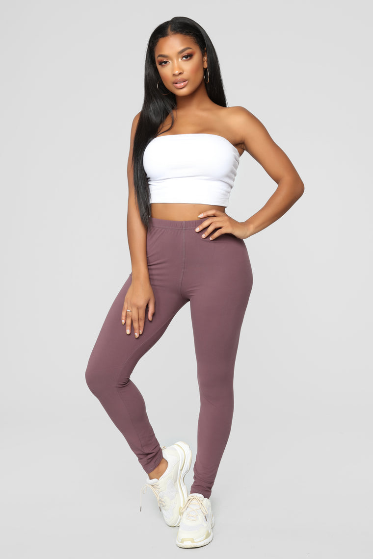 On The Daily Leggings - Violet
