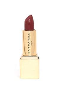 Sam Marcel Angelique Satin Lipstick - Burgundy