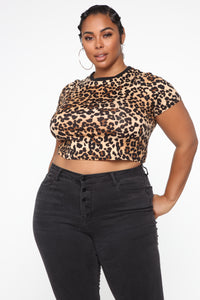 Let It Be Me Top - Leopard