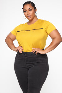She Is Limited Edition Tee - Mustard
