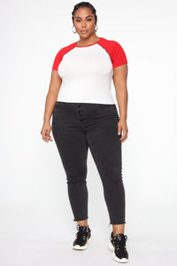 Take Me Out Top - Red/Combo