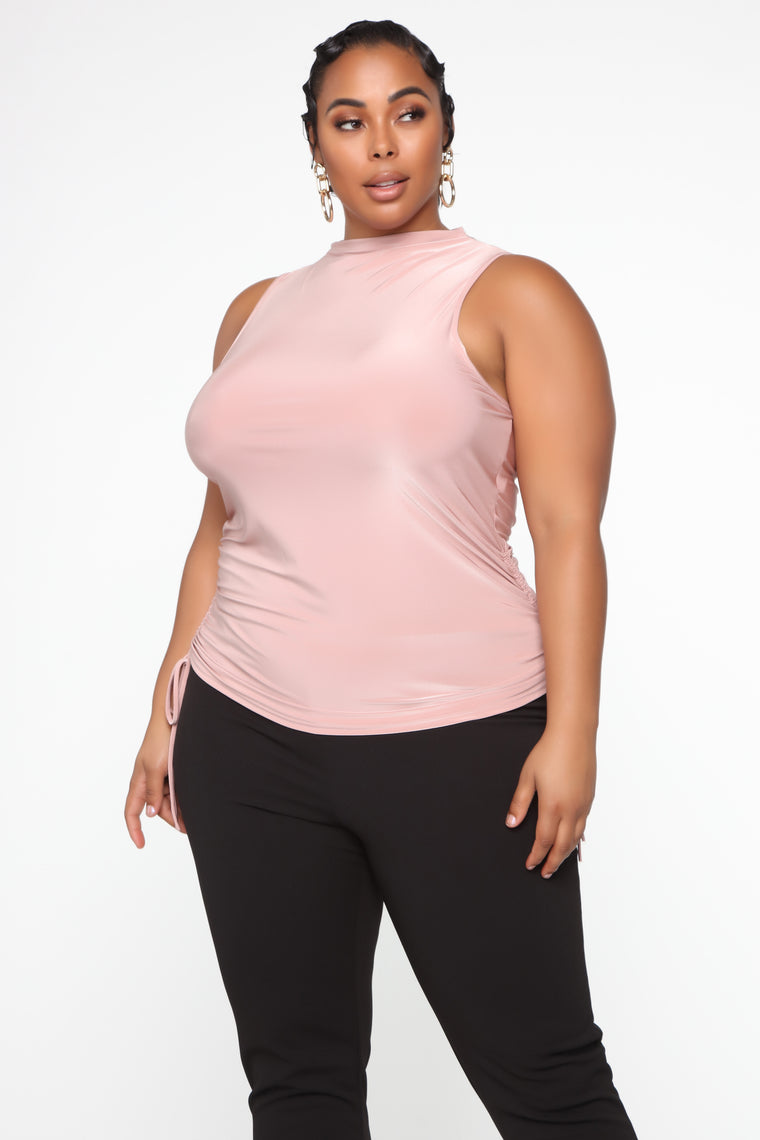 Back To Business Top - Blush