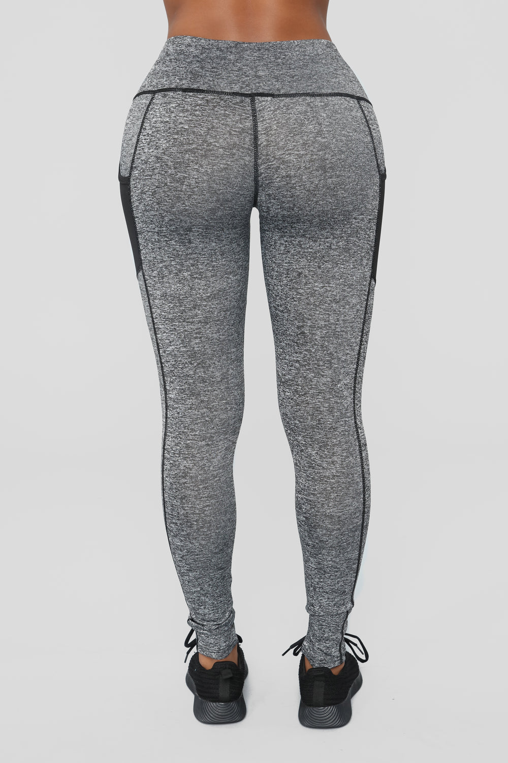For The Finish Active Leggings - Charcoal