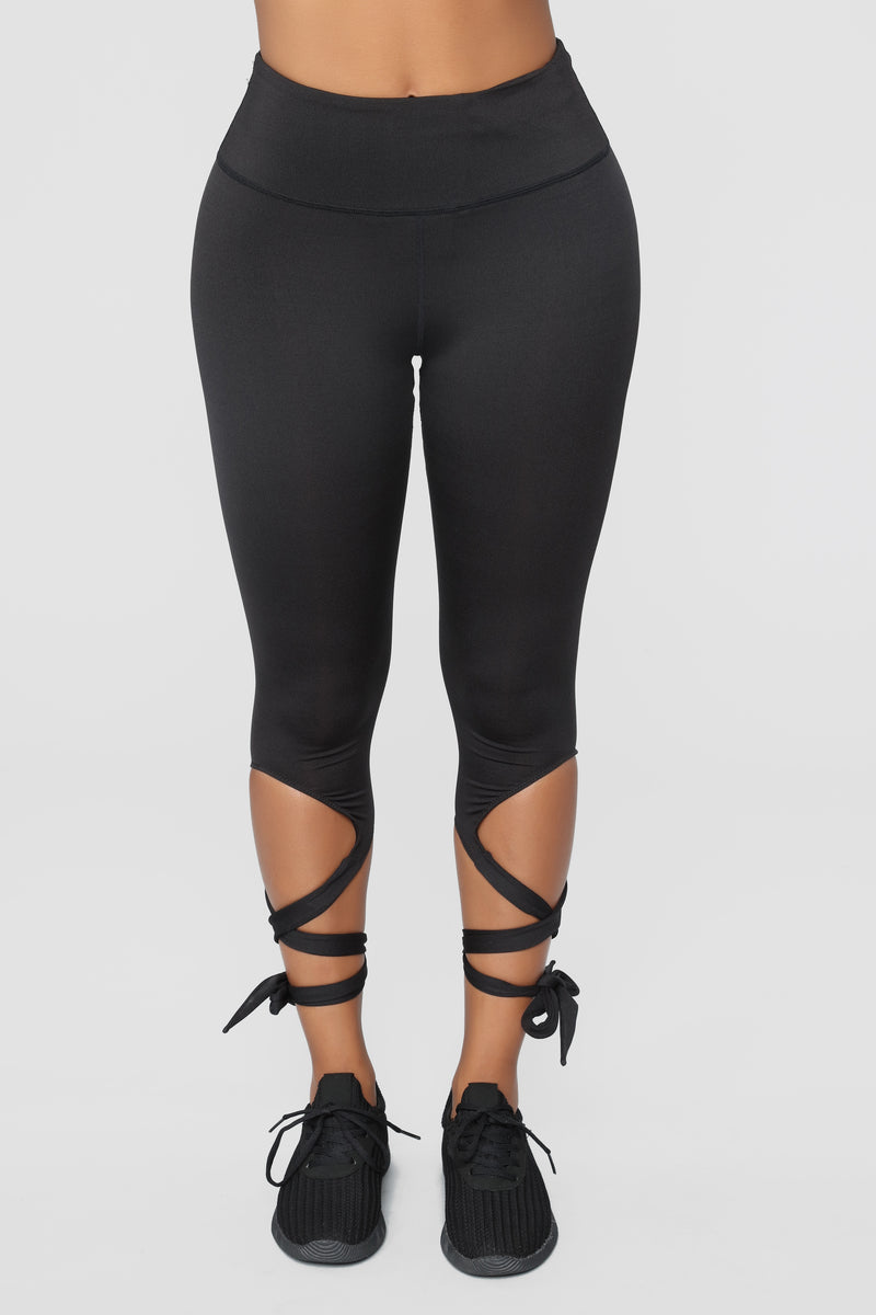 Adaline Ballerina Leggings - Black