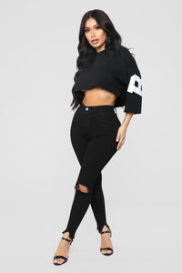 Bitch Don't Kill My Vibe Top - Black