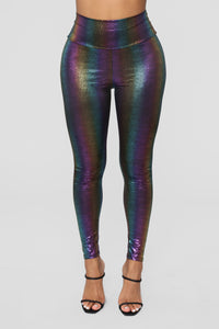 Pot Of Gold Leggings - Multi Angle 4