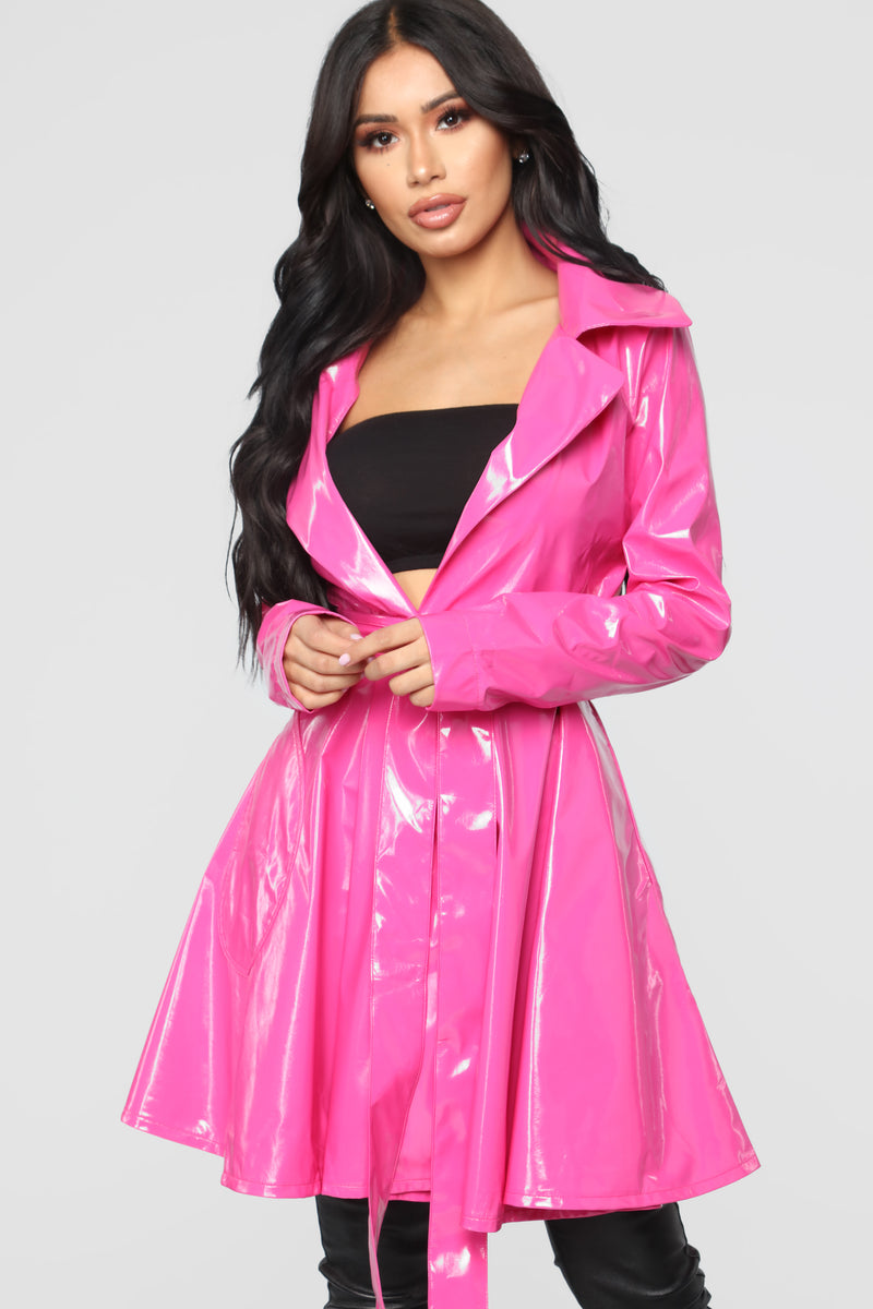 Spontaneous Thoughts Jacket - Pink