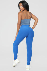 On The Daily Leggings - Royal