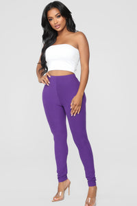 On The Daily Leggings - Purple