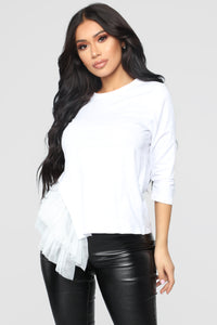 About A Girl Top - White