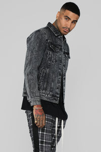 Andy Denim Jacket - Black